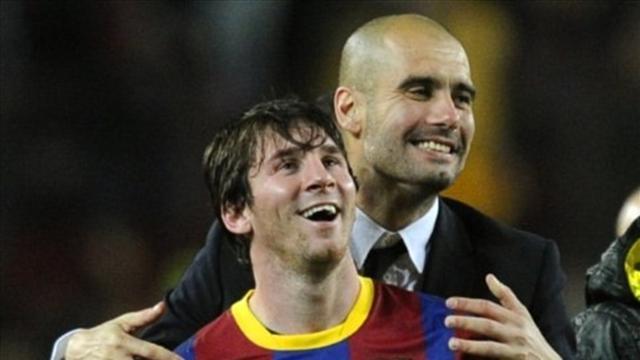 """Guardiola : """"Je n'ai jamais appelé Messi, j'espère qu'il finira au Barça"""""""