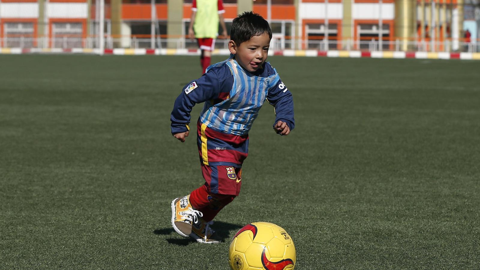 Murtaza Ahmadi, 'Lionel Messi's biggest fan'