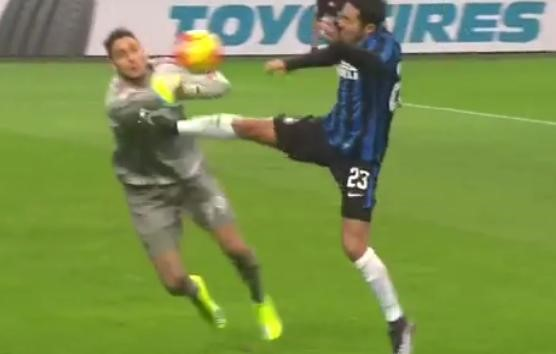 Eder-Donnarumma, Milan-Inter