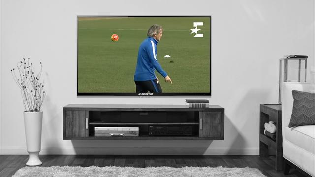 Манчини не впечатлил игроков «Интера», забив красивый мяч на тренировке
