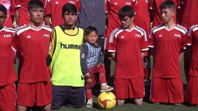 Murtaza Ahmadi, 5 ans, va peut-être rencontrer Messi