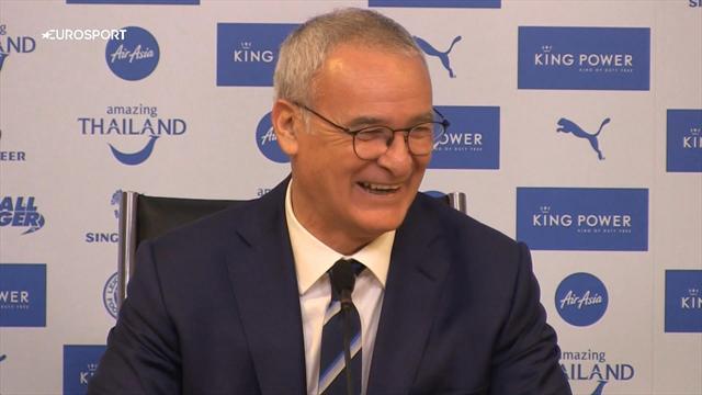 Interrogé sur l'avenir de Jamie Vardy, Claudio Ranieri se prend pour Pinocchio