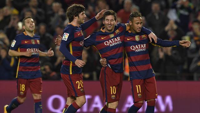 Un quadruplé de Suarez et un triplé de Messi : le Barça s'offre une démonstration de puissance