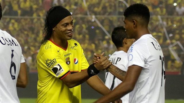 Leicester a tenté… Ronaldinho