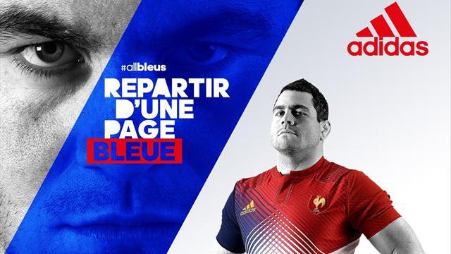 Moderne et tricolore, voici le nouveau second maillot du XV de France