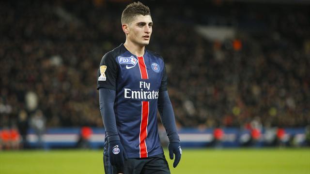 """Forfait pour la Coupe de France, Verratti va """"beaucoup mieux"""""""