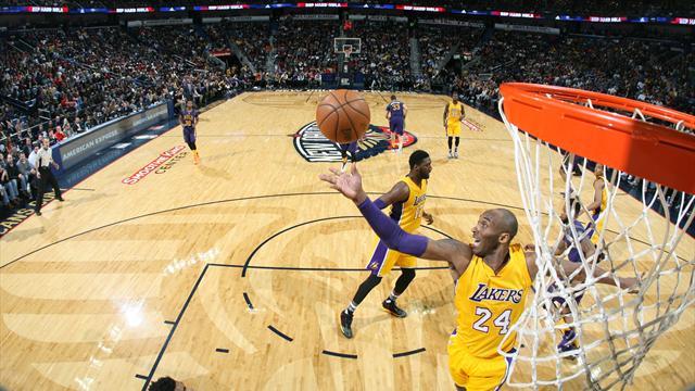 Les Lakers enchaînent, Bryant déchaîné : ce qu'il faut retenir de la nuit
