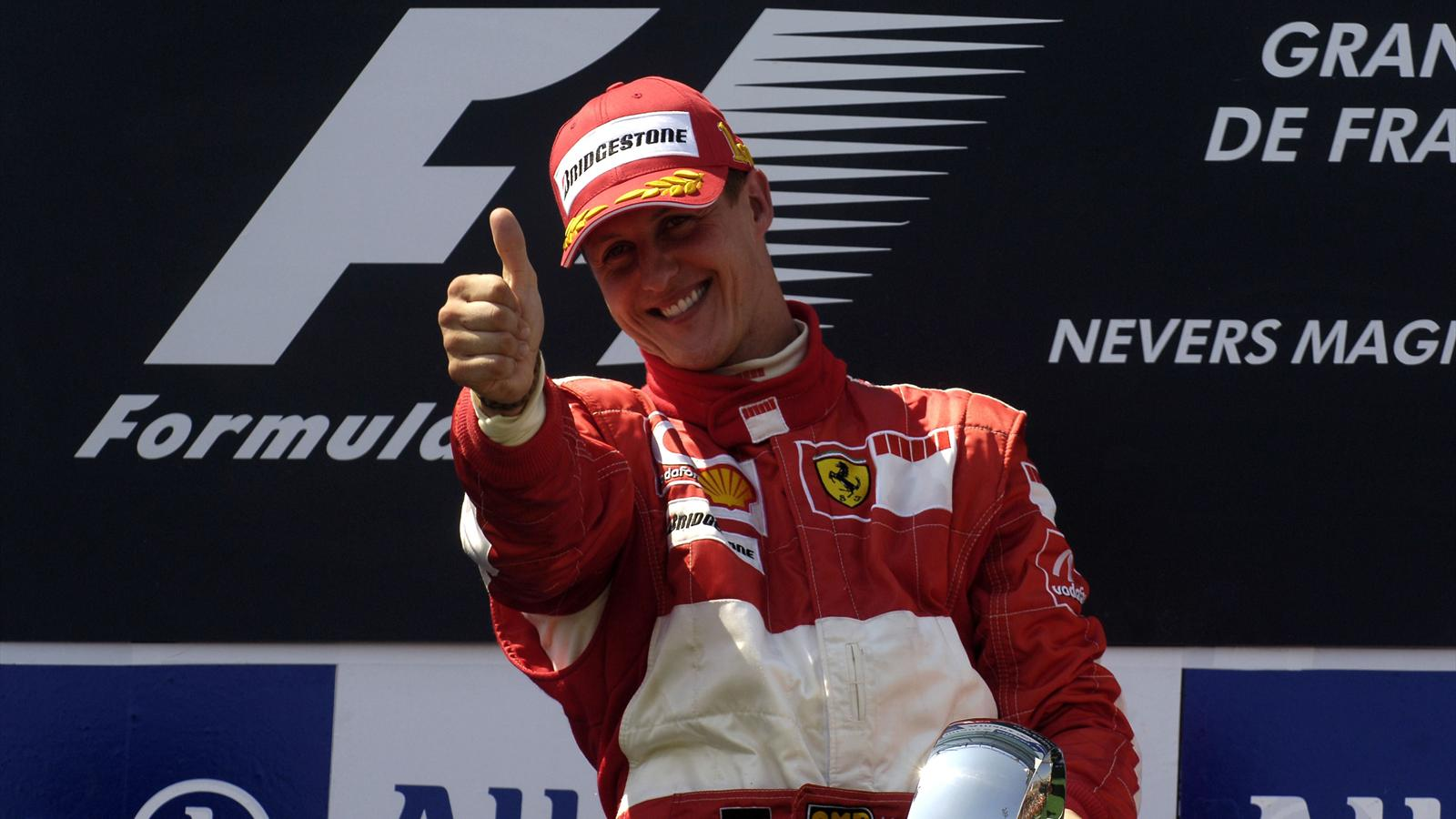 Шумахера признали лучшим пилотом вистории Феррари