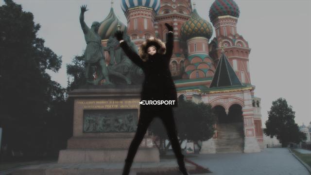 Как Шарапова провела неделю в Москве