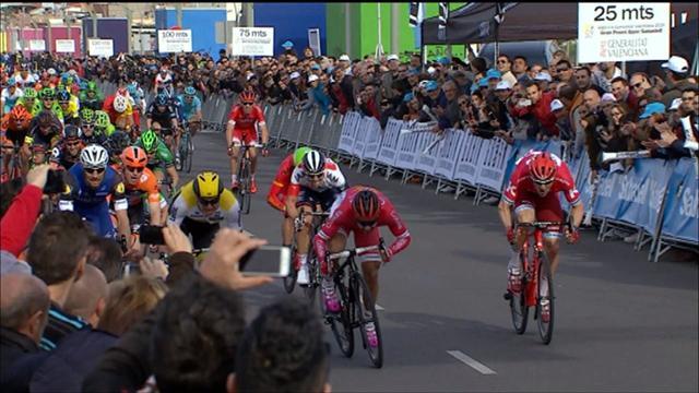 LottoNI-Jumbo's Groenewegen wins Tour of Valencia stage 3
