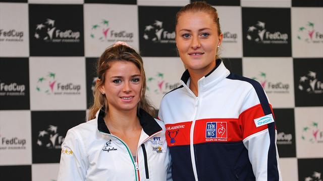 Tennis : Mladenovic - </b>Giorgi EN DIRECT