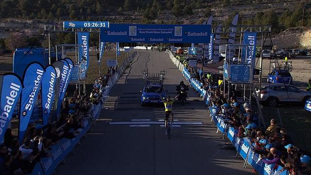 Poels wins stage four of Tour of Valencia