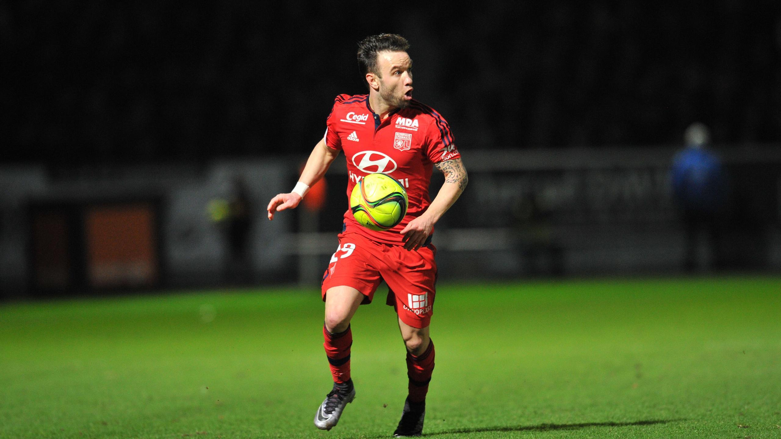 Mathieu Valbuena face à Angers