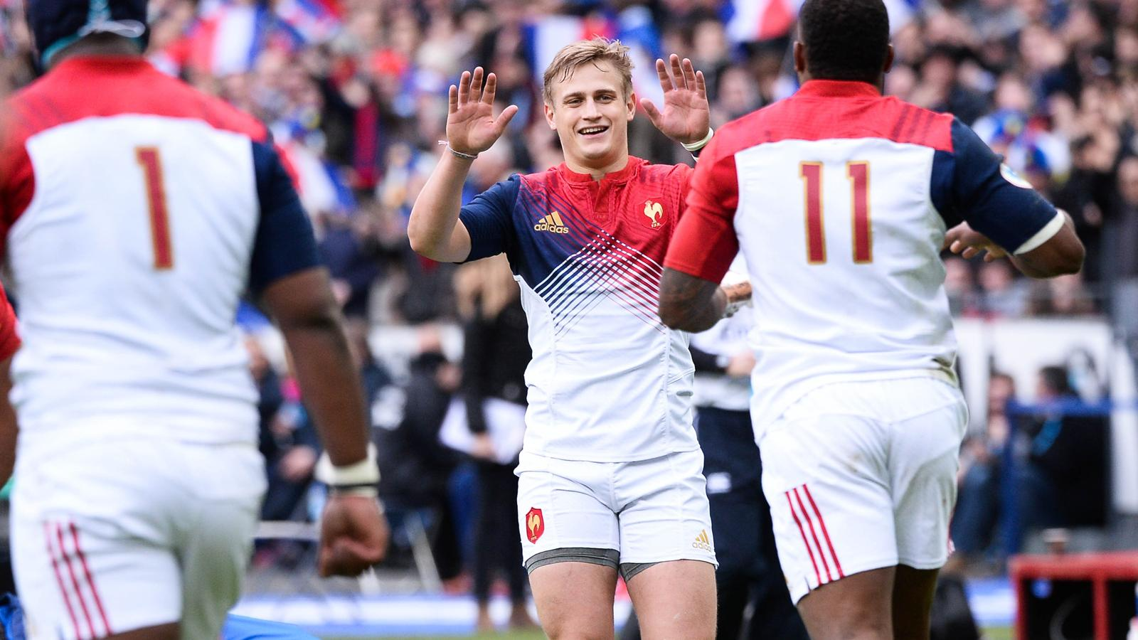 La joie de Jules Plisson (XV de France) - 6 février 2016