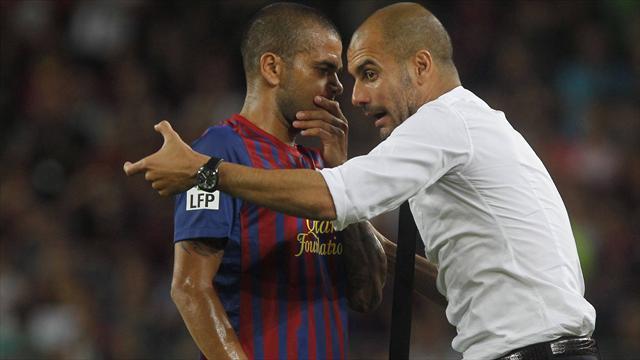 Dani Alves ile Pep Guardiola yeniden buluşuyor