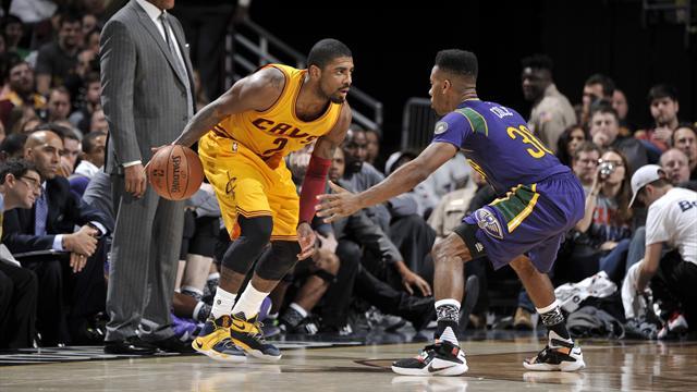 Avec 29 points d'Irving et 27 de James, Cleveland a dominé New Orleans : la vidéo
