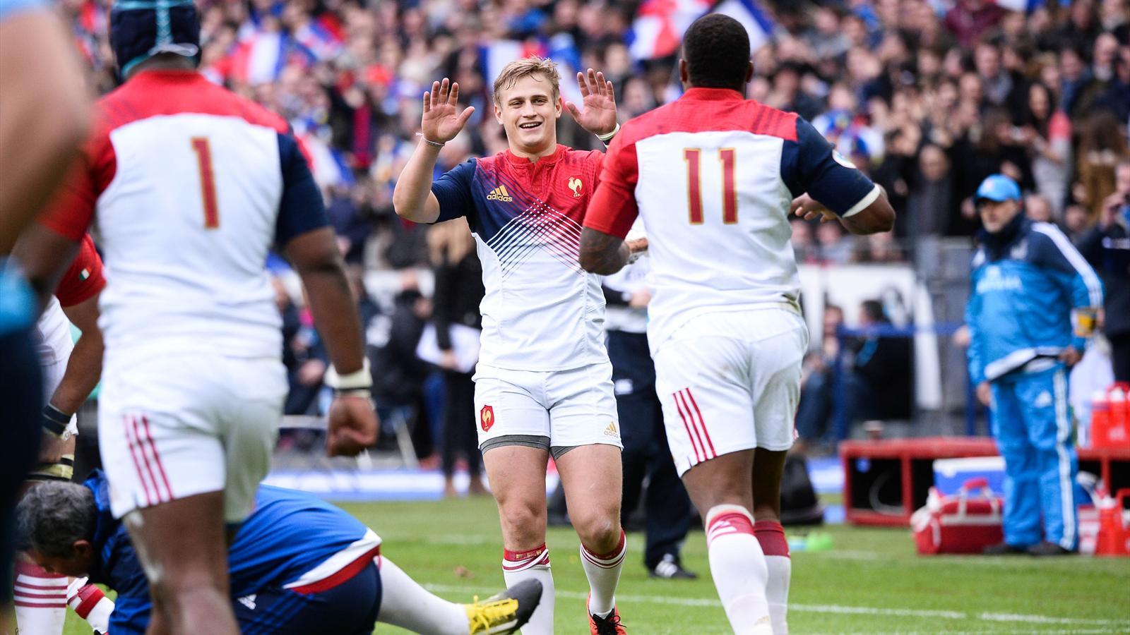 Jules Plisson (XV de France) face à l'Italie - 6 février 2016