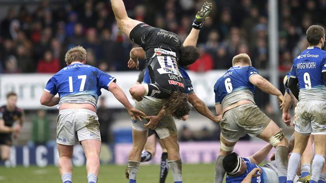 Saracens recover deficit to increase Premiership lead with win at Exeter