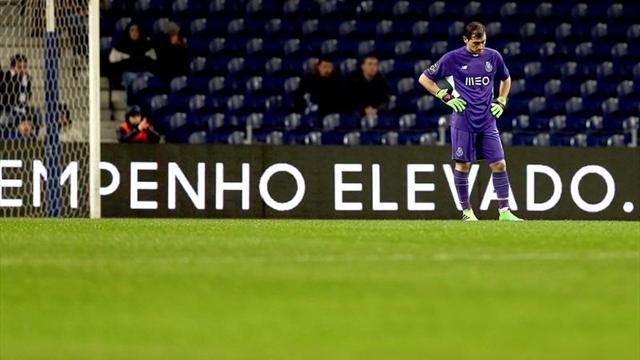 Iker Casillas encaja el gol más rápido de la liga portuguesa