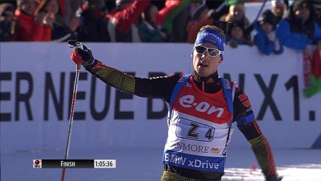 Biathlon: Deutschland gewinnt Mixed-Staffel