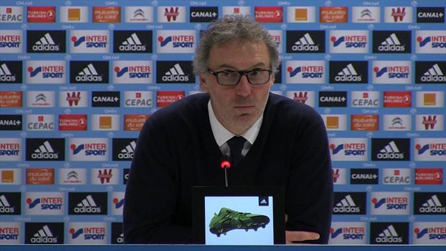 """Laurent Blanc : """"On s'est fait bouger par l'OM"""""""