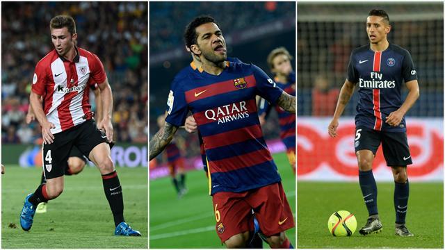 Daniel Alves visé par la Chine, Laporte et Marquinhos ciblés : la défense du Barça pourrait bouger