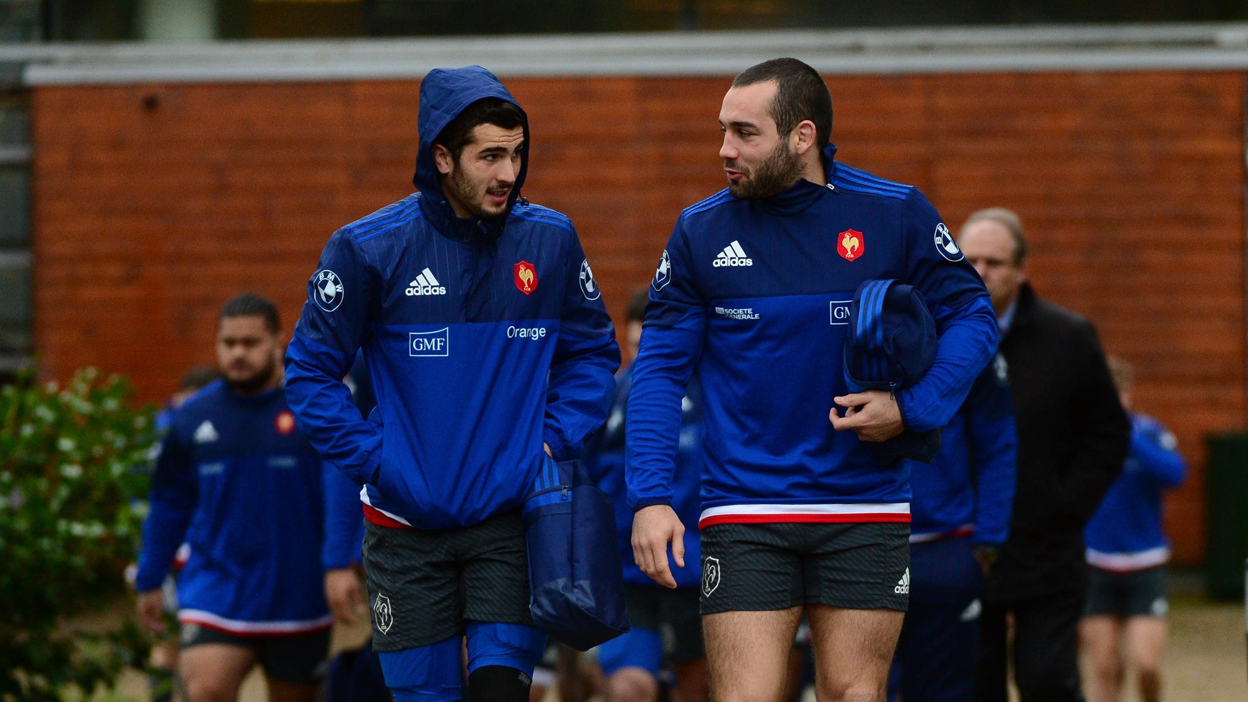 Jean-Marc Doussain et Sébastien Bézy (XV de France) - 9 février 2016