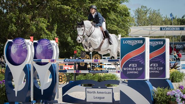 Impressive Farrington wins penultimate Longines FEI World Cup Jumping North American League