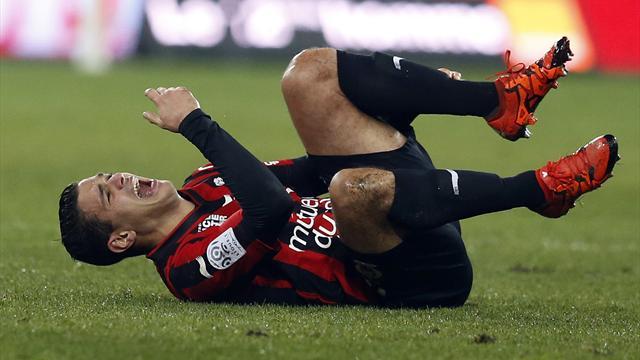 Grosse tuile pour Nice : Ben Arfa sera absent au moins un mois