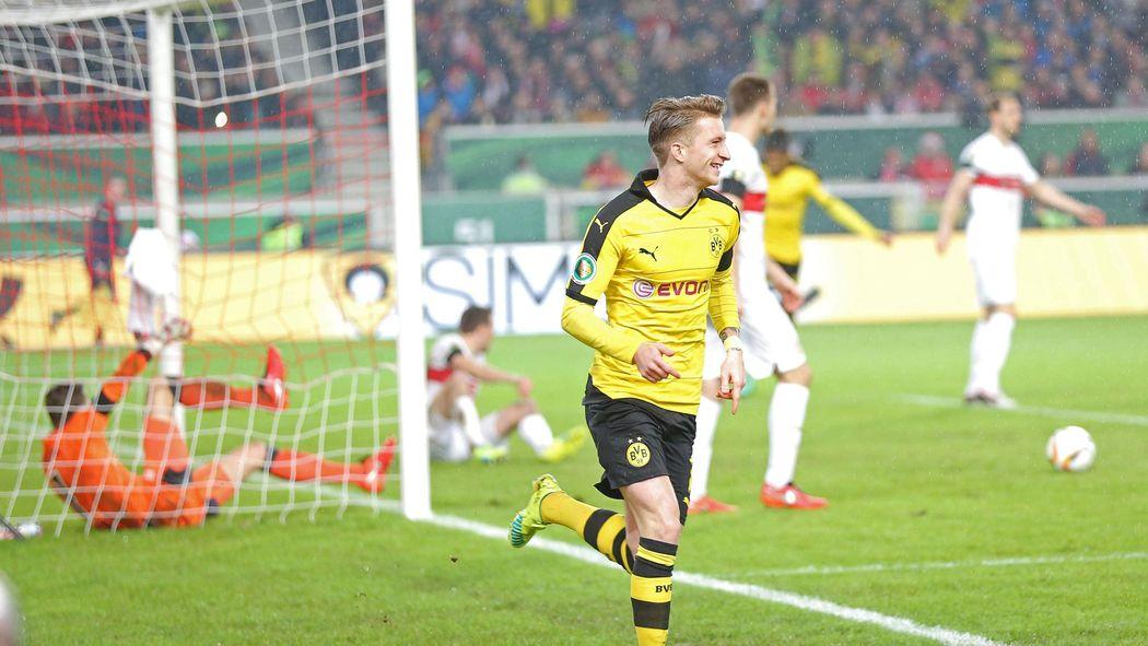 Borussia Dortmund Setzt Sich Im Dfb Pokal Viertelfinale Beim Vfb