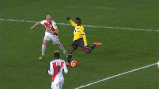 D'une superbe action, Sacko a envoyé Sochaux en quart de finale