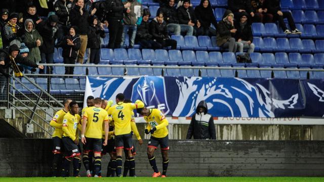 Au terme d'une superbe action, Sacko a propulsé Sochaux en quart de finale