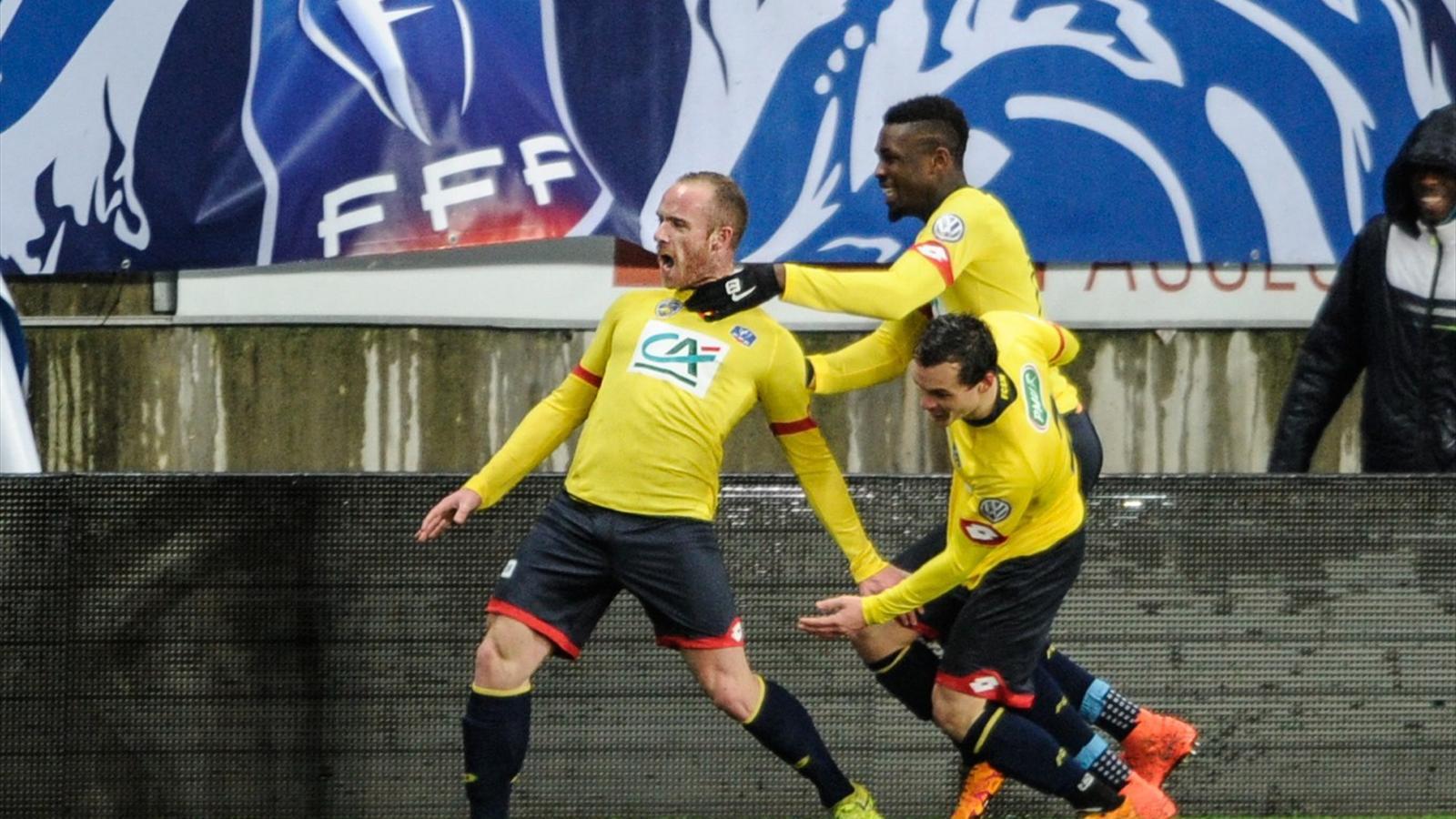 Video martin et sochaux avaient surpris monaco en - Resultats coupe de france football 2015 ...