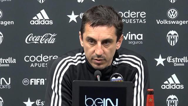 """Gary Neville : """"Bientôt, tout ira mieux pour Valence. Je vous le promets"""""""