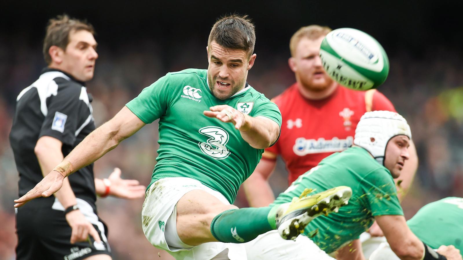 Conor Murray (Irlande) face au pays de Galles- 7 février 2016