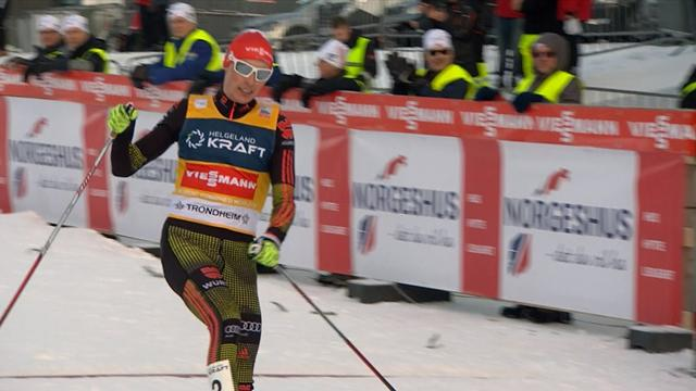 Eric Frenzel cements World Cup lead with Trondheim win