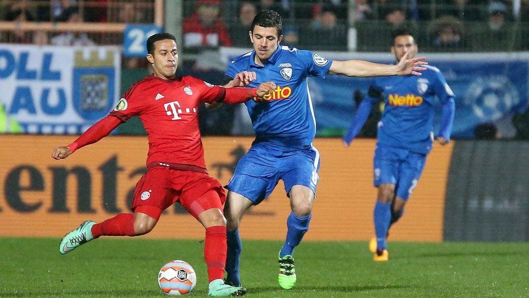 Dfb Pokal Fc Bayern Zieht Nach Sieg Gegen Bochum Ins Halbfinale Ein