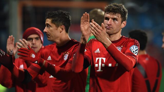 Tranquille, le Bayern poursuit sa route