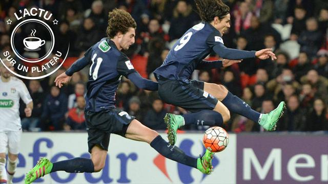 Coupe de France, PSG, Blanc, Barça, NBA : L'actu sur un plateau