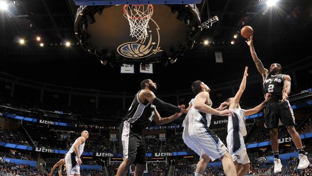 Leonard offre la victoire aux Spurs à la dernière seconde : le top 10 de la nuit