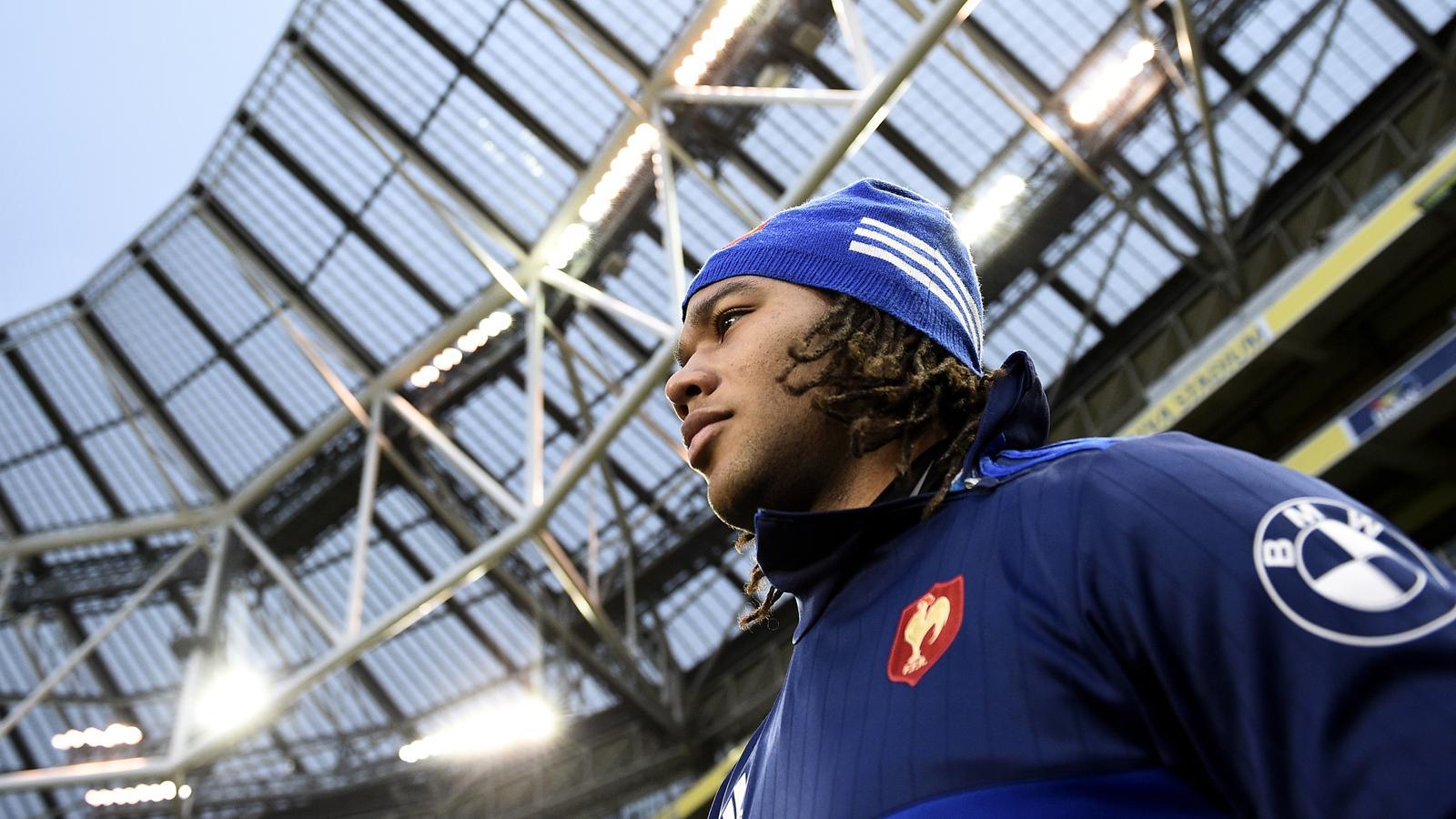 Teddy Thomas va de nouveau être titulaire avec le XV de France contre l'Irlande