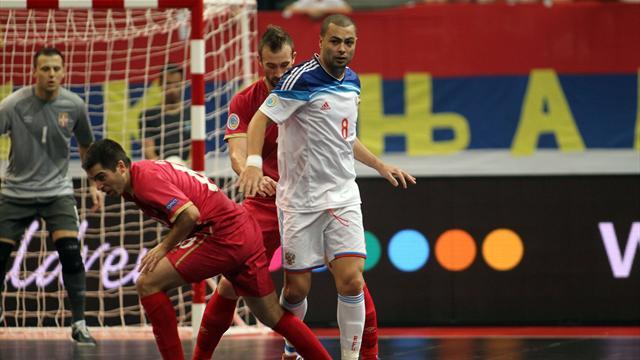 Россия вышла в финал чемпионата Европы по футзалу