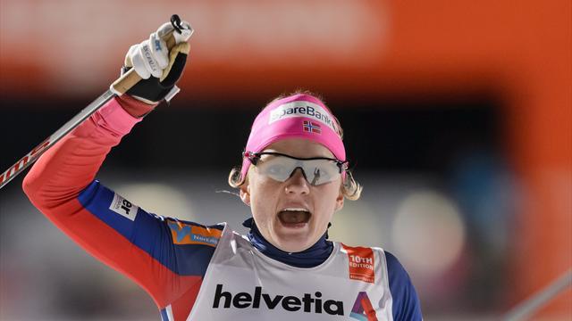 Фалла стала чемпионкой мира в спринте свободным стилем