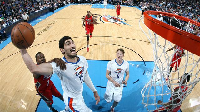 Le Thunder facile, Milwaukee relève un peu la tête : ce qu'il faut retenir de la nuit NBA