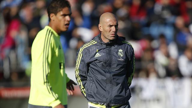 """Zidane répond aux rumeurs : """"Varane, c'est l'avenir du Real Madrid"""""""