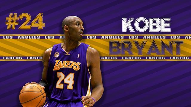 Kobe Bryant, 20 saisons NBA et une pluie de titres et de récompenses