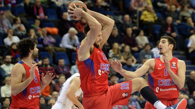 ЦСКА одержал вторую победу в Евролиге
