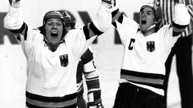 Olympia-Geschichte(n): Deutschland holt Olympiabronze im Eishockey
