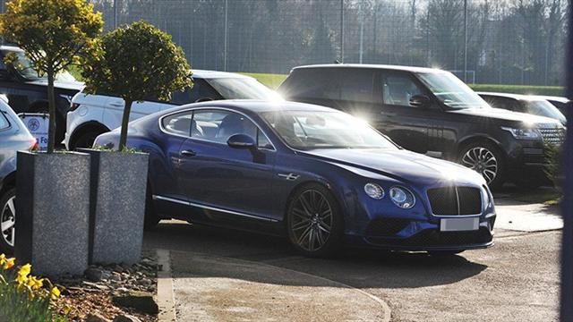 Варди купил Bentley Continental на зарплату за 10 дней