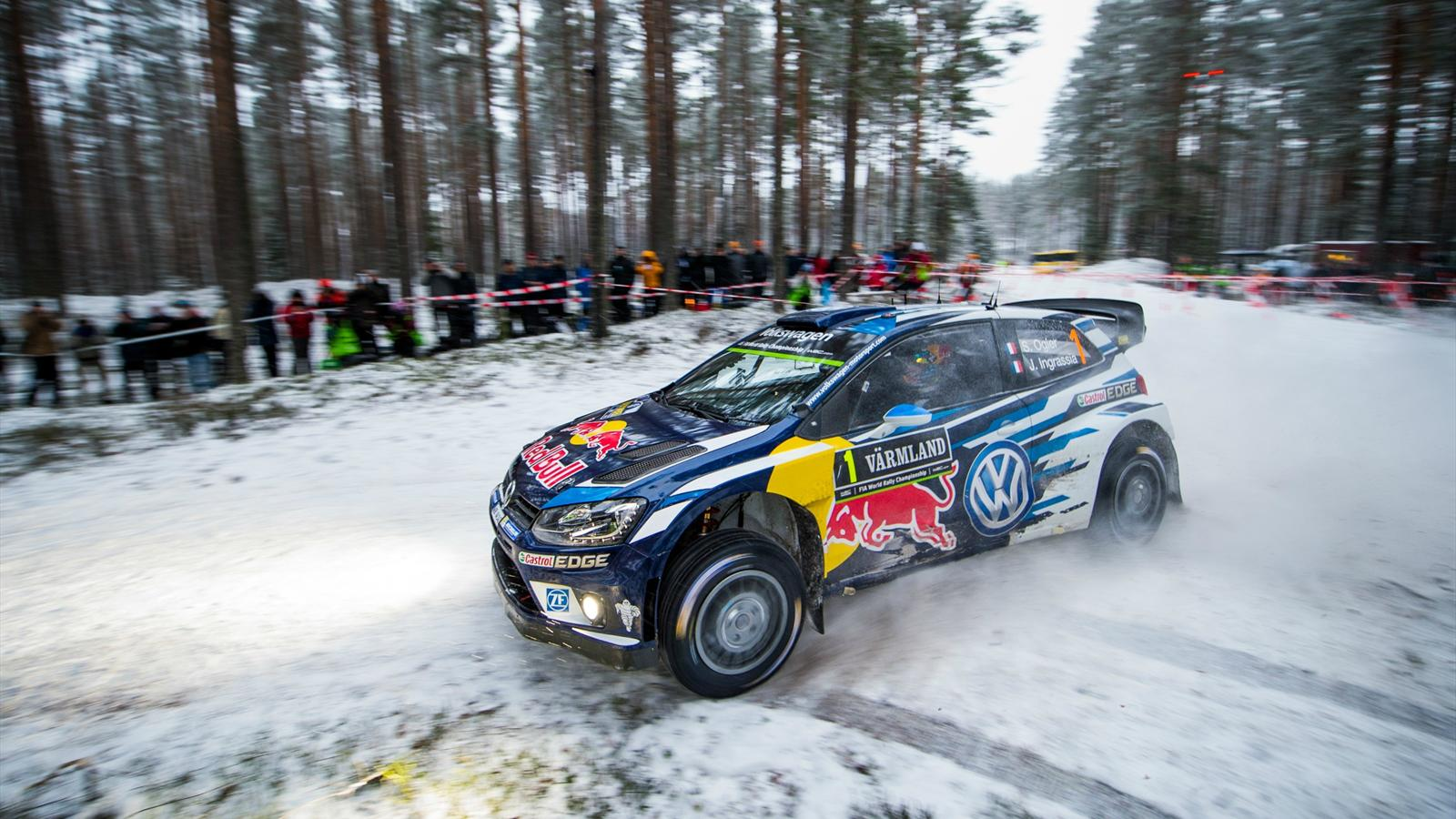 vainqueur en su de s bastien ogier volkswagen poursuit son d but de saison parfait rallye. Black Bedroom Furniture Sets. Home Design Ideas
